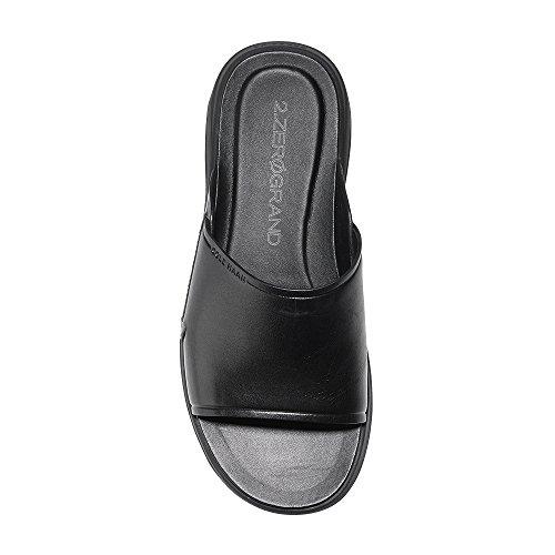 Cole Haan Mens 2 Sandalo Con Zeppa Zerogrand Nero-nero