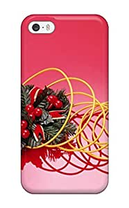 Defender Case For Iphone 5/5s, Holiday Christmas Pattern