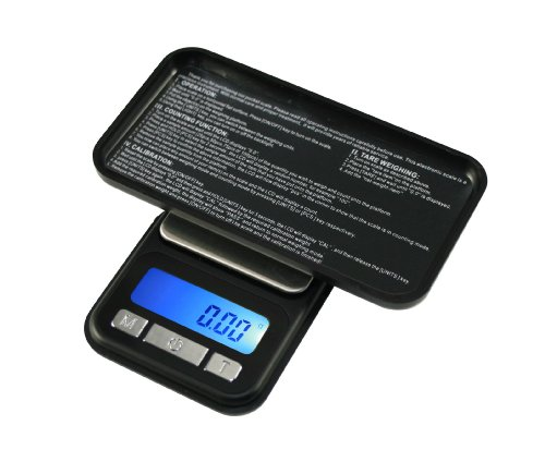 (American Weigh Scale Cp5-650 Gram Digital Cell Phone Style Scale, Black, 650 X 0.1 G)