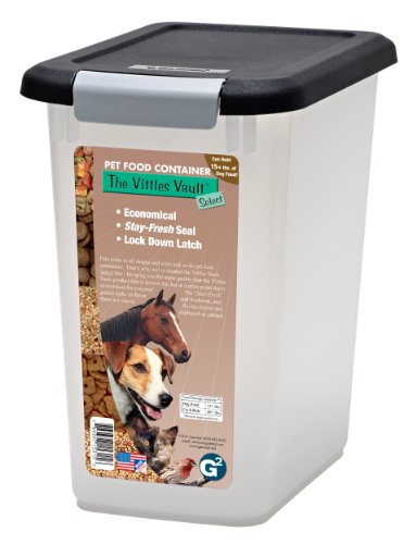 Vittles Vault Home 15 lb Airtight Pet Food Storage Container (Capacity Pet Food)