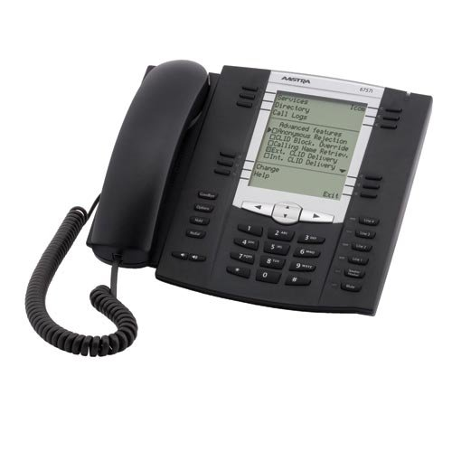 Aastra 57i English Text Telephone (6757i)