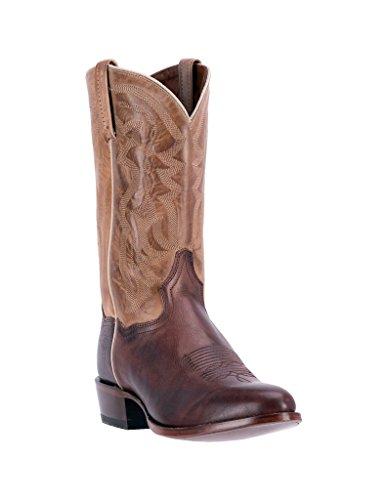 - Dan Post Men's Greer Western Boot Round Toe Chocolate 11.5 D