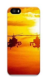 iPhone 5 5S Case Helicopter Military 3D Custom iPhone 5 5S Case Cover