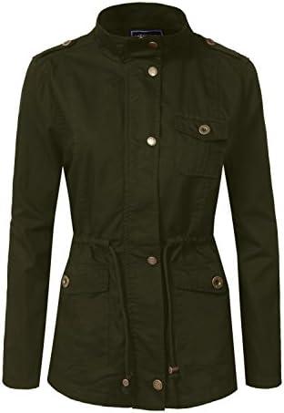b9848a91aa31 J. LOVNY Women s Versatile Military Anorak Jacket   Vest Various Styles  S-3XL