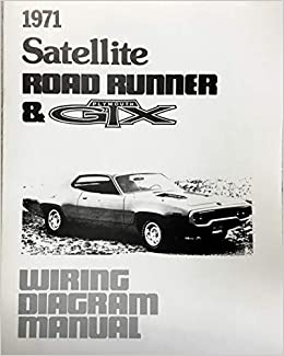 1971 PLYMOUTH ROAD RUNNER, SATELLITE & GTX FACTORY ... on