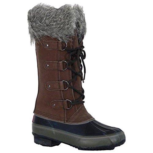 Western Chief Women`s Chooka 4 Eye Tall Winter Boot, 7, B...
