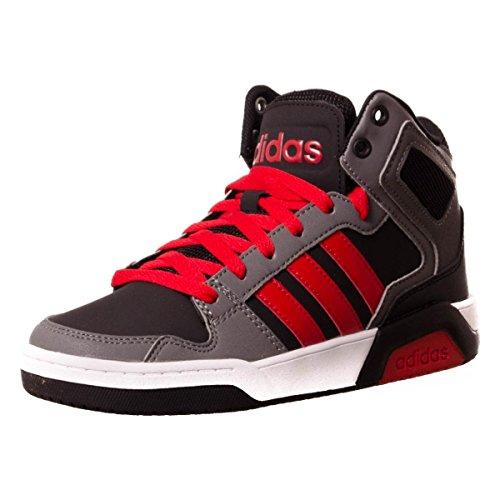 adidas Bb9tis Mid K, Zapatillas de Deporte Unisex Niños Negro (Negbas / Escarl / Gricua)