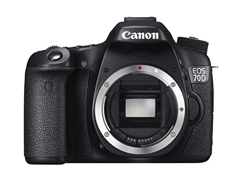 Canon EOS 70D SLR-Digitalkamera (20,2 Megapixel, 7,6 cm (3 Zoll) Display, APS-C CMOS Sensor, Full HD, WiFi, DIGIC 5+ Prozessor) nur Gehäuse schwarz