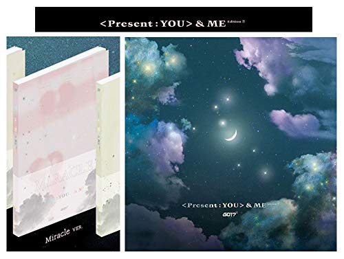 [Miracle Ver.] PRESENT YOU&ME Edition Repackage 3rd Album GOT K-POP 2CD + Photo Book + Photo Card + Lyrics Booklet + Extra Gift