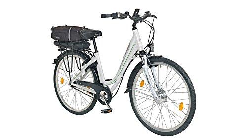 FISCHER FAHRRAEDER E-Bike City Damen Ecoline ECU1602, 28 Zoll, 7 Gang, Frontmotor, 317 Wh 71,12 cm (28 Zoll)