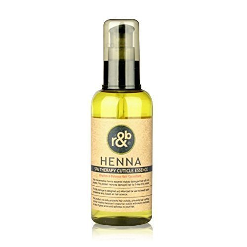 Therapy Cuticle (Henna SPA Therapy Cuticle Essence 100ml Provide Elasticity and Smooth Gloss to the Hair)