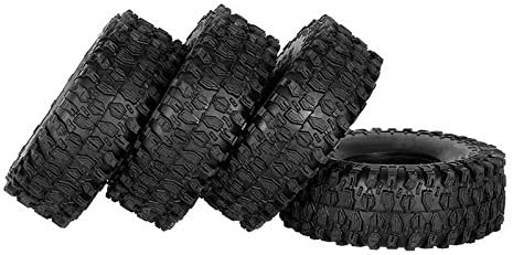SNOWINSPRING 4 St/üCk 120Mm Gummi 1,9 Zoll Rad Reifen Reifen f/ür 1:10 RC Crawler Auto Axial SCX10 90046 AXI03007 TRX4 D90 D110