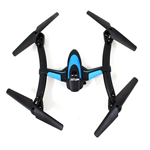 INSTEN X500 2.4G 6 Axis 3D Roll FPV Quadcopter - Black by INSTEN