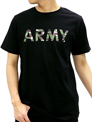 - Beaumere Men's Air Force Army Print T-Shirt Camouflage Military Short Sleeve Shirt (X-Large, 4 Black/Army)