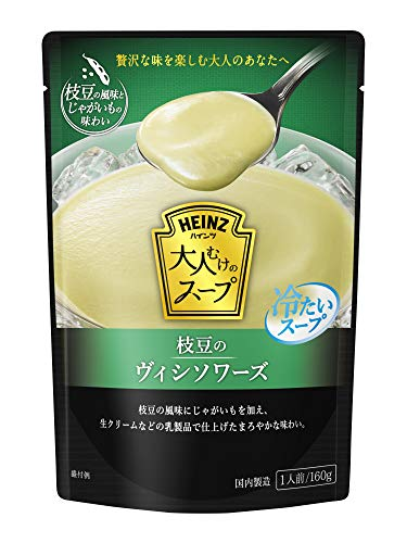 Heinz adults soup cold edamame Vichyssoise 160g ~ 5 bags of