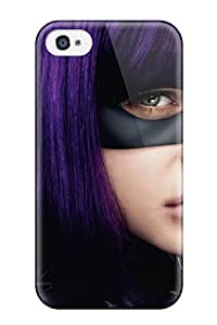 High Quality WZb-4983qBRhjECn Kick Ass Hit Girl Purple Wig People Movie Tpu Case For Iphone 4/4s