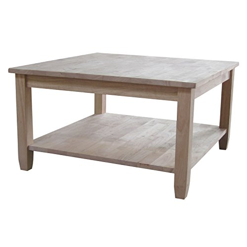 (International Concepts Solano Square Coffee Table)