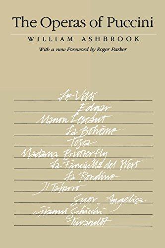 The Operas of Puccini (Cornell Paperbacks) [Ashbrook, William] (Tapa Blanda)