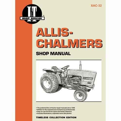All States Ag Parts I&T Shop Manual Collection Allis Chalmers 5020 5020 5030 5030