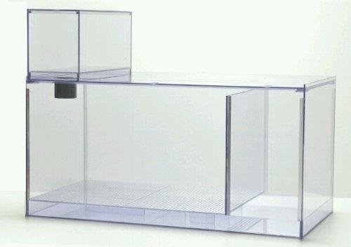 二層濾過槽 700×390×高さ300mm ウールボックス付 B00FYI6T08