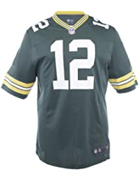 Aaron Rodgers Green Bay Packers Green Jersey