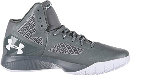Graphite 2 Shoes Metallic Silver Mens Drive Clutchfit UA White BwXPxrqXtc