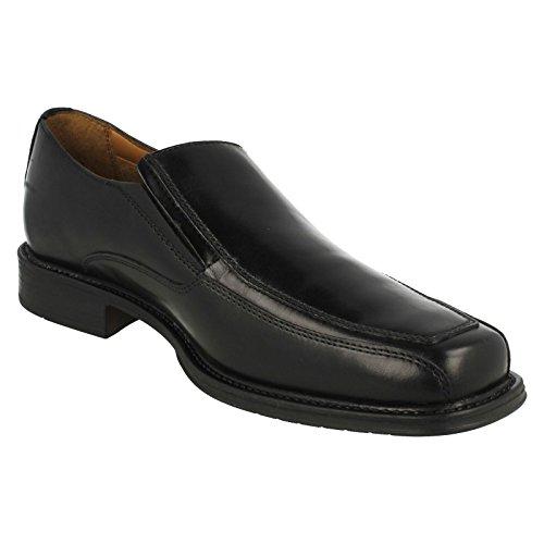 Driggs Free Black Leather