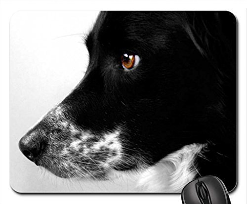 Border collie Mouse Pad, Mousepad (Dogs Mouse Pad)