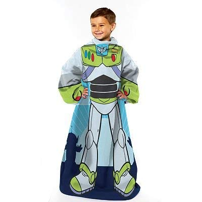 Toy Story Buzz Lightyear Real Hero Youth Comfy Throw - The Blanket with Sleeves