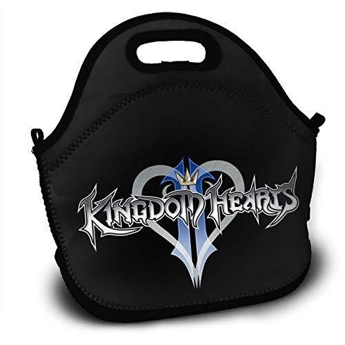 NEST-Homer Kingdom Hearts Lunch Bag Lunch Box Thermal Insulated Lunch Pouch  Picnic Bag School Cross Body Backpack 1ee4372fda686