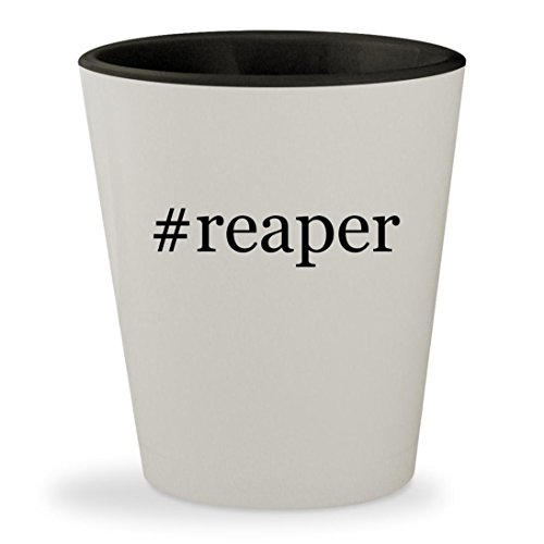 Price comparison product image #reaper - Hashtag White Outer & Black Inner Ceramic 1.5oz Shot Glass