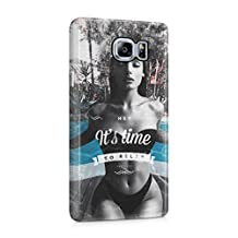 Hey It's Time To Relax Sexy Naked Brunette Girl Poolside Plastic Phone Snap On Back Cover Shell For Samsung Galaxy Note 5