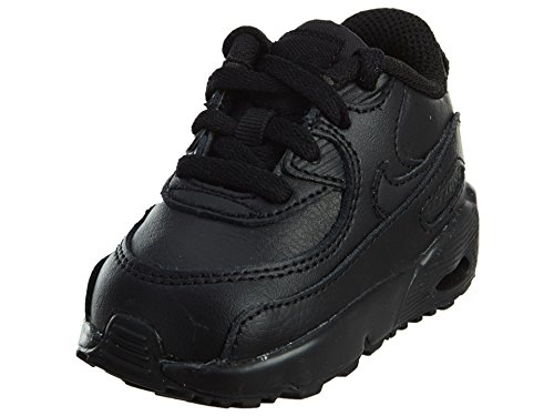 best website 2b640 fb88c Galleon - NIKE Air Max 90 LTR (TD) Toddler Shoes Black Black 833416-001 (10  M US)