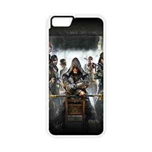 iPhone 6 Plus 5.5 Inch Cell Phone Case White am32 assasins creed game art illust Xlyzi