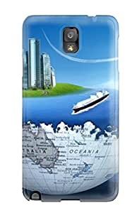 Hot Design Premium CMsIfLI8235uLskr Tpu Case Cover Galaxy Note 3 Protection Case(ugly Christmas Sweater )