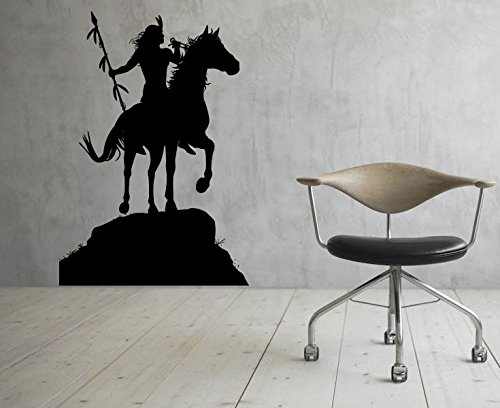 Native Americans Wall Decal Vinyl Sticker Indians Art Wal...