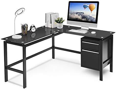 Best home office desk: L Shaped Home Office Desk