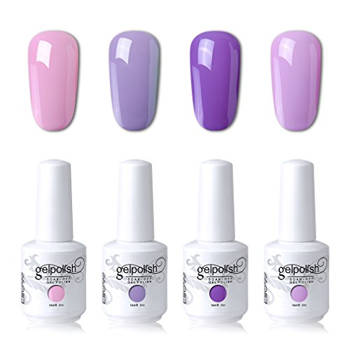 Elite99 Soak Off Gel Polish Lacquer UV LED Nail Art Manicure