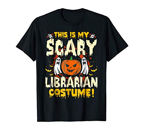This is my Scary Librarian Costume Funny Halloween T Shirt for $<!--$17.99-->