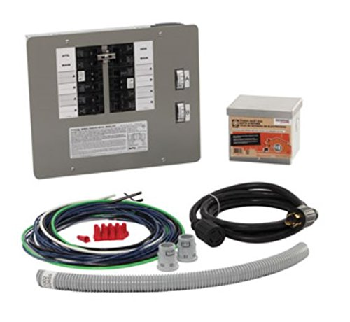 Generac 6295 30-Amp 10-16 Circuit Manual Transfer Switch Kit for Portable Generators