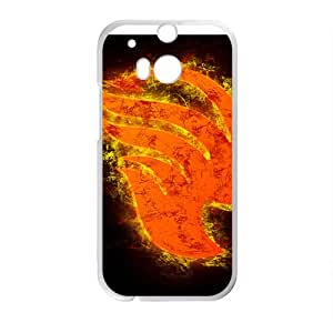 Burning Fairy Tail Cell Phone Case for HTC One M8