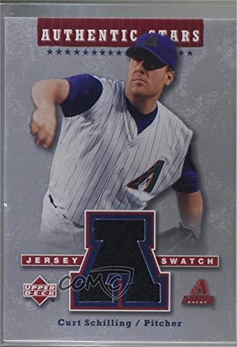 - Curt Schilling (Baseball Card) 2004 Upper Deck - Authentic Stars Jerseys #AS-CS