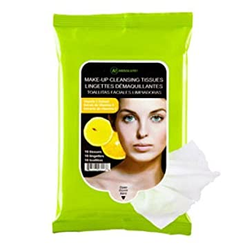 Amazon.com: A! Absolute Make up Cleansing Tissues- Vitamin C - 10 ct: Beauty