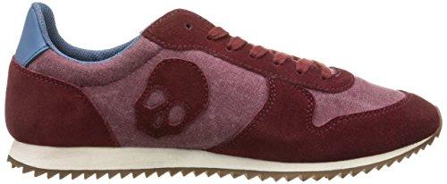 Scalpers, Skull Insignia 03 - Zapatillas para Hombre, Color bourdeaux, Talla 39: Amazon.es: Zapatos y complementos