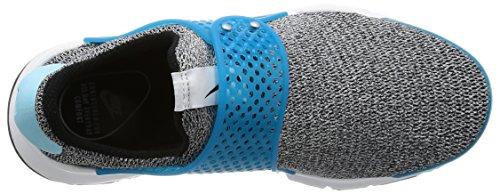 Nike Damen Sock Dart SE Laufschuhe Schwarz / Schwarz-Blau Lagune-Weiß