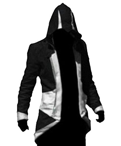 TEENTAGE Men's Costume Hoodie Jacket Cosplay Coat with