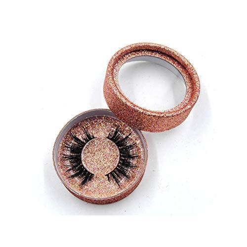 1Pair/Box 3D Mink Eyelashes Natural Long Soft Eyelash