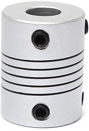 Wellen-Unterstützung Aluminium Flexible Wellenkupplung OD19mm X L25mm CNC Schrittmotor-Koppler-Verbindungs 8mm x 8mm