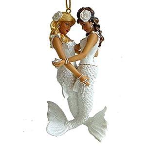 41mfP1XqcaL._SS300_ 100+ Mermaid Christmas Ornaments