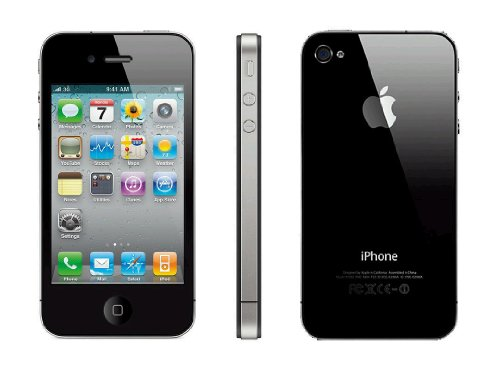 Apple iPhone 4 32 GB Unlocked, Black (4 Unlocked Iphone Apple)
